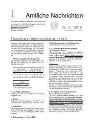 KV-Änderungen - Bundeskammer der Architekten und ...