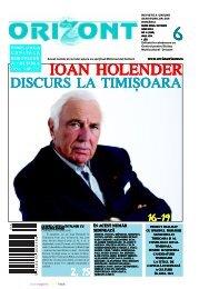 ioan holender ioan holender ioan holender ioan ... - revistaorizont.ro