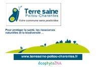 Diaporama - Ecophyto 2018 en Poitou-Charentes