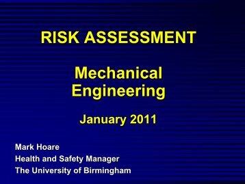 Mechanical Engineering (PDF 1.1MB) - University of Birmingham