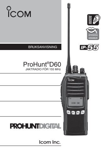 ProHunt®D60 - VHF Group AS