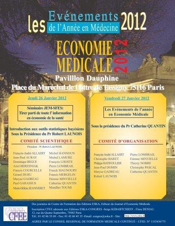 Document Joint - SFES - Société Française en Economie de la Santé