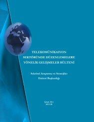 Şubat - Telekomünikasyon Kurumu