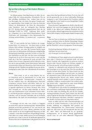 Sprachforschung auf höchstem Niveau - SchweizerDeutsch