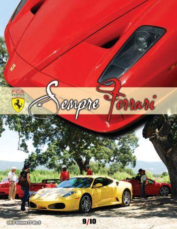 Volume 17 Issue 5 - September/October 2010 - Ferrari Club of ...