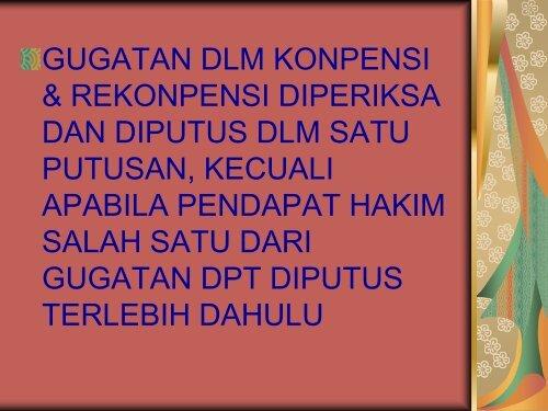 GUGAT REKONPENSI - MS Aceh
