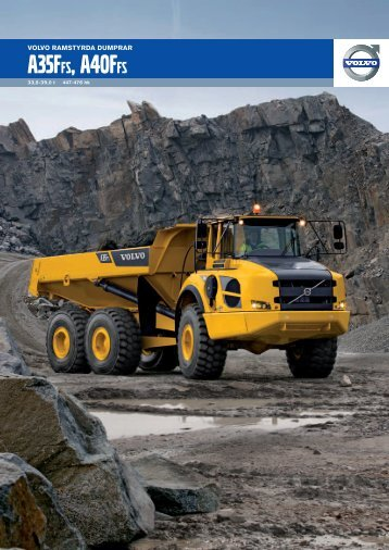 Product Brochure A35FFS A40FFS Swedish 2012_11 - Volvo ...
