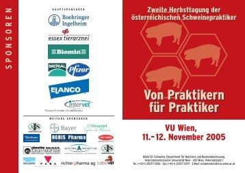Wien, 11.–12. November 2005 - Verein der Freunde und Förderer ...