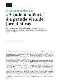 A independência é a grande virtude jornalística - Clube de Jornalistas