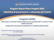 Caino - Università degli Studi di Milano - Dipartimento per le ...