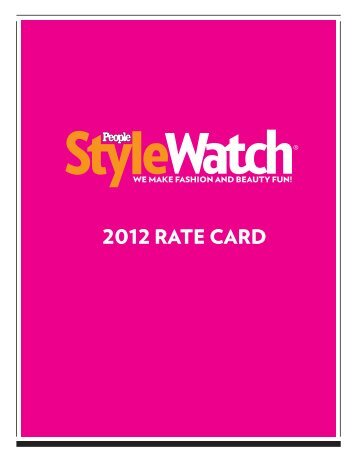 SW Rate Card 2012 11 17 11
