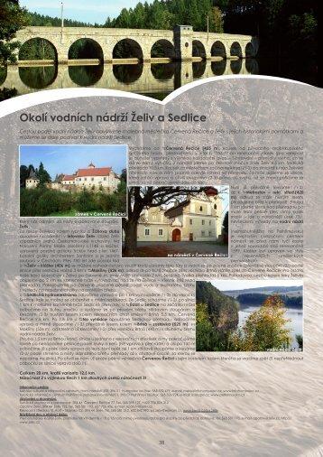 Okolí vodních nádrží Želiv a Sedlice - Extranet
