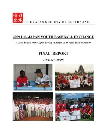 FINAL REPORT - National Association of Japan-America Societies