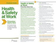 An Employer Guide to Supervisor Health and Safety ... - Ontario.ca