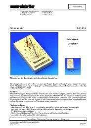 Anleitung, 3 Seiten; 64 KB