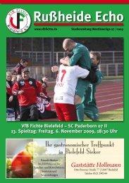 SC Paderborn 07 II 13. Spieltag - VfB Fichte Bielefeld