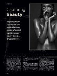 Capturing beauty - Swiss News