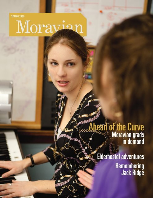 Ahead of the Curve - Moravian College