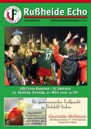 SC Delbrück 25. Spieltag - VfB Fichte Bielefeld