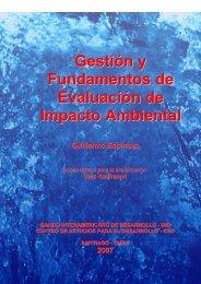Gestión y Fundamentos de Evaluación de Impacto Ambiental - CDAM