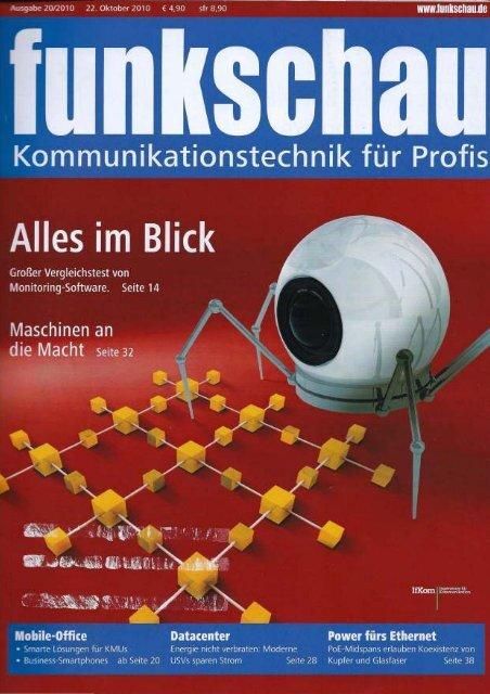 FUNKSCHAU AUSGABE 20/2010: Energieeffizienz ganzheitlich ...
