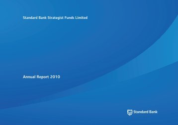 Annual Report 2010 - Private Clients - Standard Bank