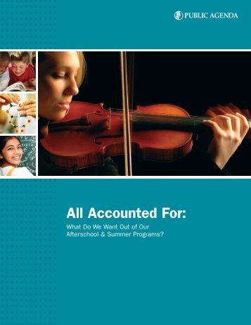 Download this PDF now. - Public Agenda Online