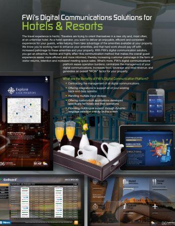 Hotels & Resorts - Hospitality Technology
