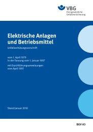 Downlaod Unfallsverhütungsvorschrift - Arbeitsschutz (144 KB)