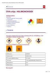 OVA-ohje: HIILIMONOKSIDI - Työterveyslaitos