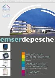 Kundenzeitung Emser Depesche 01/2012 - Heinen + Löwenstein