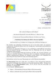 Die Deutsch-Kasachische Universität führt am ... - AHK Zentralasien