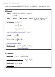 Grundwissen Ph 09 G9 - LSH Marquartstein