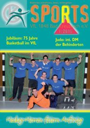 Ãœbersicht unserer Sport- angebote - VfL 1848 Bad Kreuznach eV