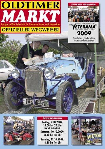 OFFIZIELLER WEGWEISER 2009 - Veterama
