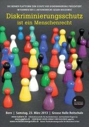 Diskriminierungsschutz - Integration BS/BL