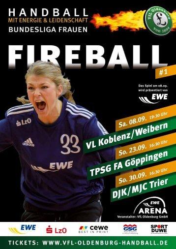 VL Koblenz/Weibern, 23.09 - VfL Oldenburg