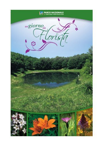 Un giorno da florista - Parco Nazionale del Gran Sasso e Monti della ...