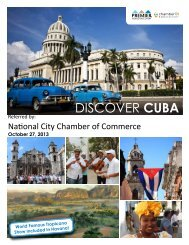 (1) DISCOVER CUBA - National City Chamber of Commerce