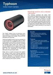 Typhoon - Colour Zoom Camera - Tritech
