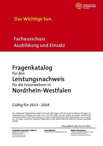 Fragen Leistungsnachweis 2013-2018 (.pdf-Datei) - Feuerwehr ...