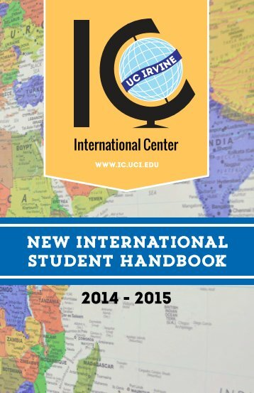 2013 - 2014 New International Student Handbook - UCI ...