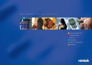 Download Nimlok Brochure (PDF). - ABC Expo