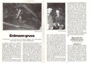 Erdmann-gruva pdf - NAGS