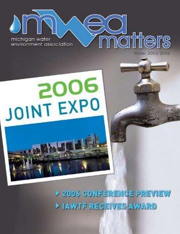 Winter 2006 - Michigan Water Environment Association