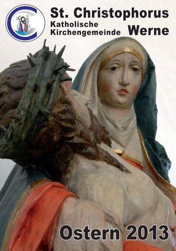Osterpfarrbrief 2013 - Pfarramt St. Christophorus