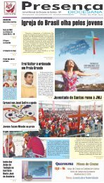 Igreja do Brasil olha pelos jovens - Unisantos