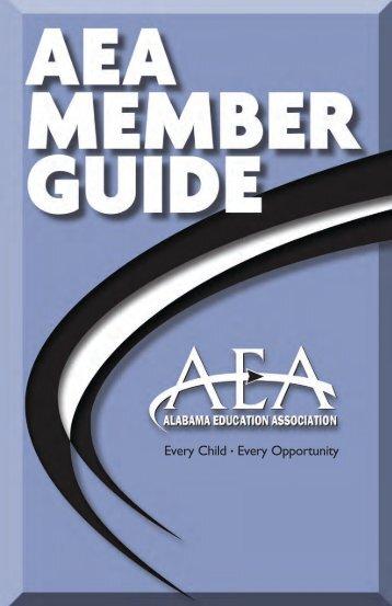 2012 AEA Member Guide - Alabama Education Association