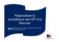 Surveillance des IST 29092010 - ARS Océan Indien