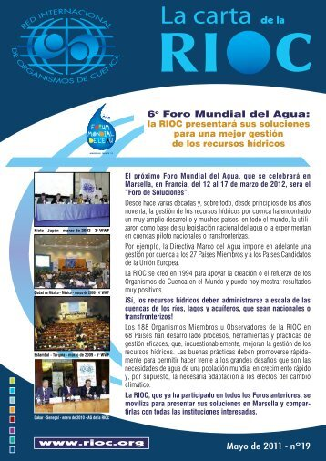 La carta de la RIOC n°19 - INBO